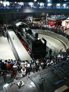 鉄道博物館を訪ねた