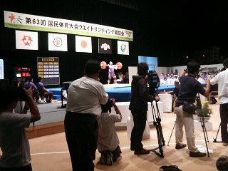 成年105kg<br />  級、武田選手