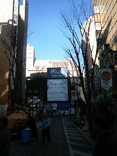 渋谷、新宿を散策中